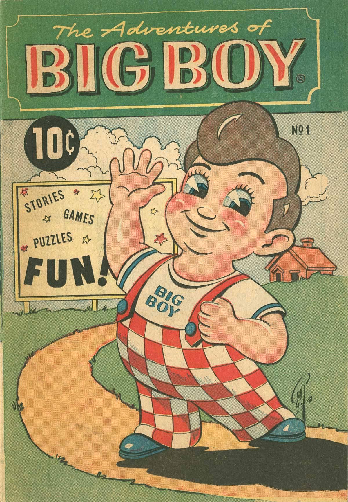 Adventures of the Big Boy Vol 1 1