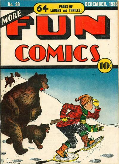 More Fun Comics Vol 1 38