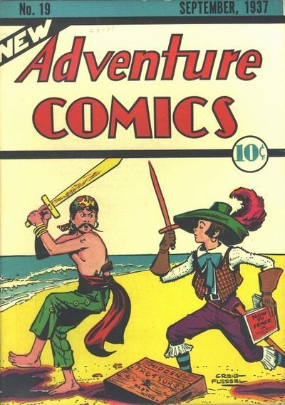 New Adventure Comics Vol 1 19