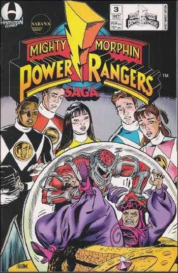 Saban's Mighty Morphin Power Rangers Saga Vol 1 3