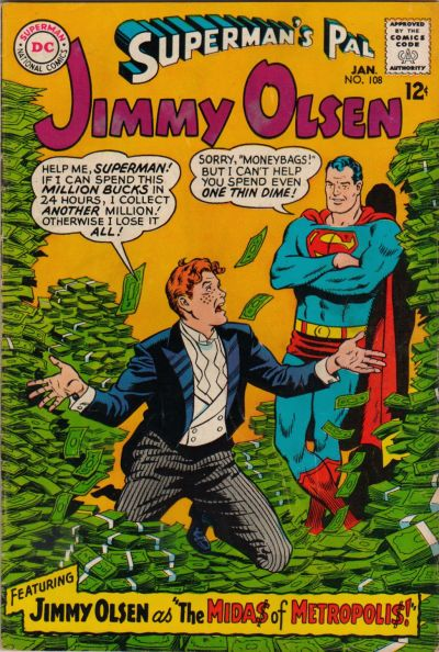 Superman's Pal, Jimmy Olsen Vol 1 108