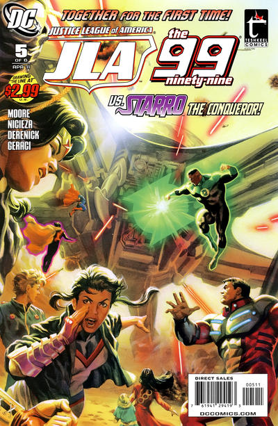 Justice League of America / the 99 Vol 1 5