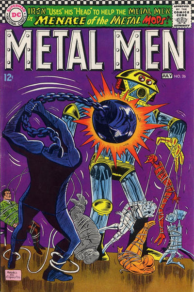 Metal Men Vol 1 26