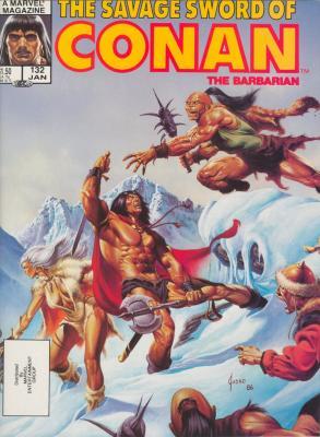 Savage Sword of Conan Vol 1 132