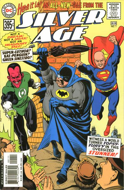 Silver Age/Covers
