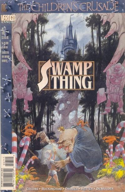 Swamp Thing Annual Vol 2 7