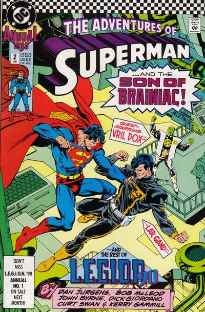 Adventures of Superman Annual Vol 1 2