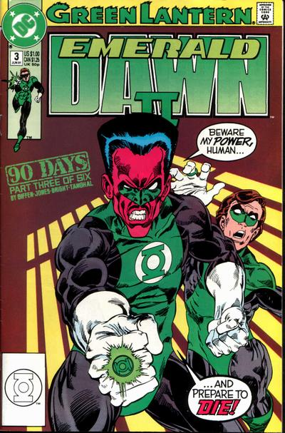 Green Lantern: Emerald Dawn II Vol 1 3