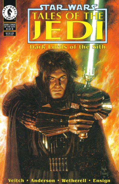 Star Wars: Tales of the Jedi – Dark Lords of the Sith Vol 1 6