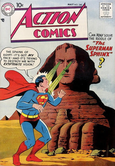 Action Comics Vol 1 240