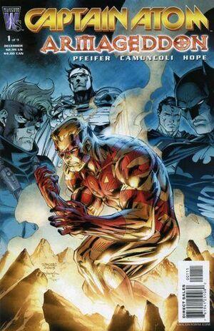 Captain Atom: Armageddon #1; illustration by Alex Ross