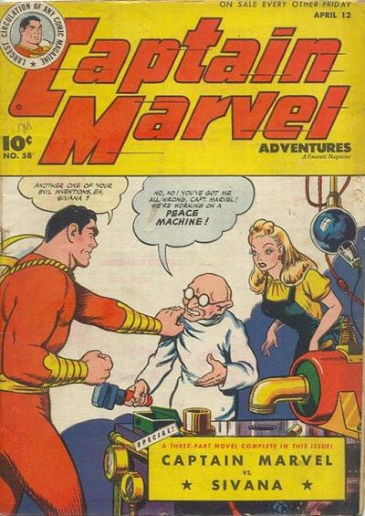 Captain Marvel Adventures Vol 1 58