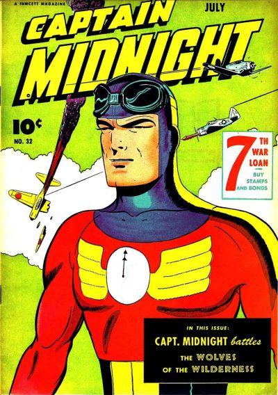 Captain Midnight Vol 1 32