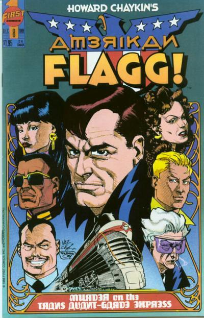 Howard Chaykin's American Flagg Vol 1 8