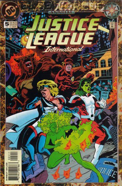Justice League International Annual Vol 1 5
