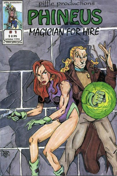Phineus: Magician for Hire Vol 1 1