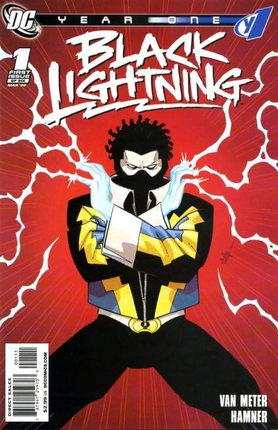 Black Lightning: Year One/Covers