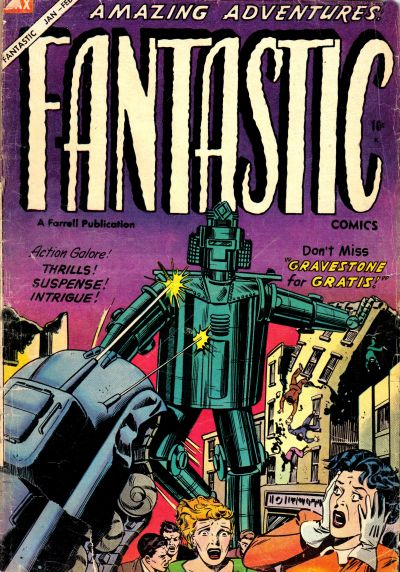 Fantastic Comics Vol 2 11