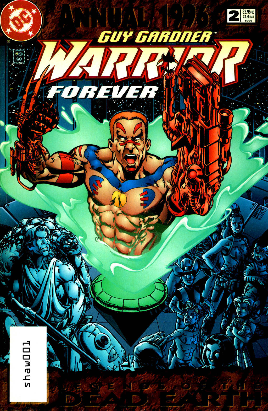 Guy Gardner: Warrior Annual Vol 1 2