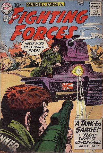 Our Fighting Forces Vol 1 57