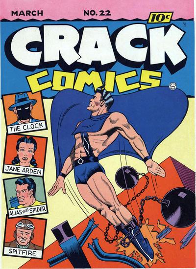 Crack Comics Vol 1 22