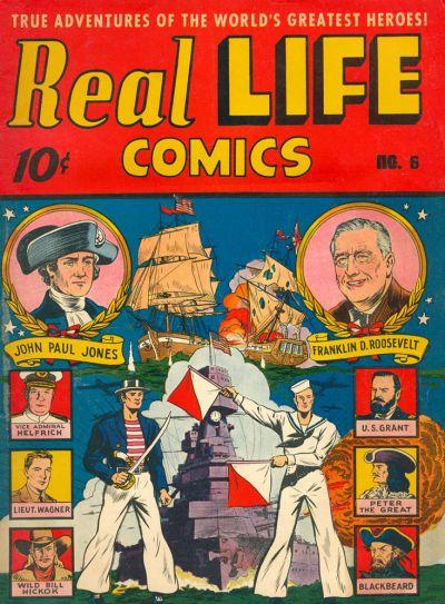 Real Life Comics Vol 1 6