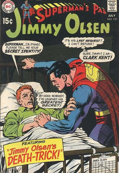 Superman's Pal, Jimmy Olsen Vol 1 121