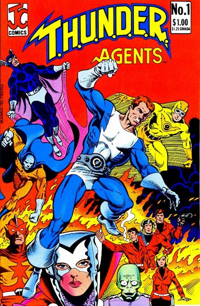 T.H.U.N.D.E.R. Agents Vol 2