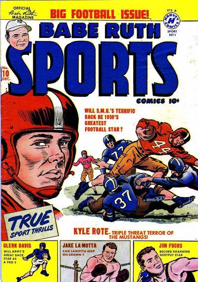 Babe Ruth Sports Comics Vol 1 10
