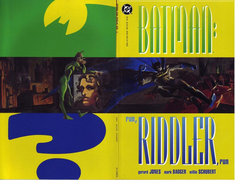 Batman: Run, Riddler, Run Vol 1 2