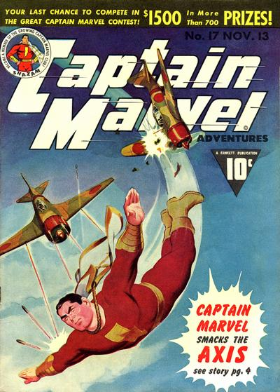 Captain Marvel Adventures Vol 1 17