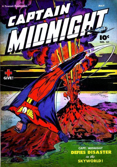 Captain Midnight Vol 1 51