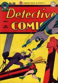Detective Comics Vol 1 98