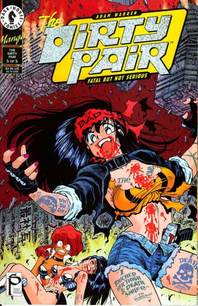 The Dirty Pair: Fatal But Not Serious Vol 1 5