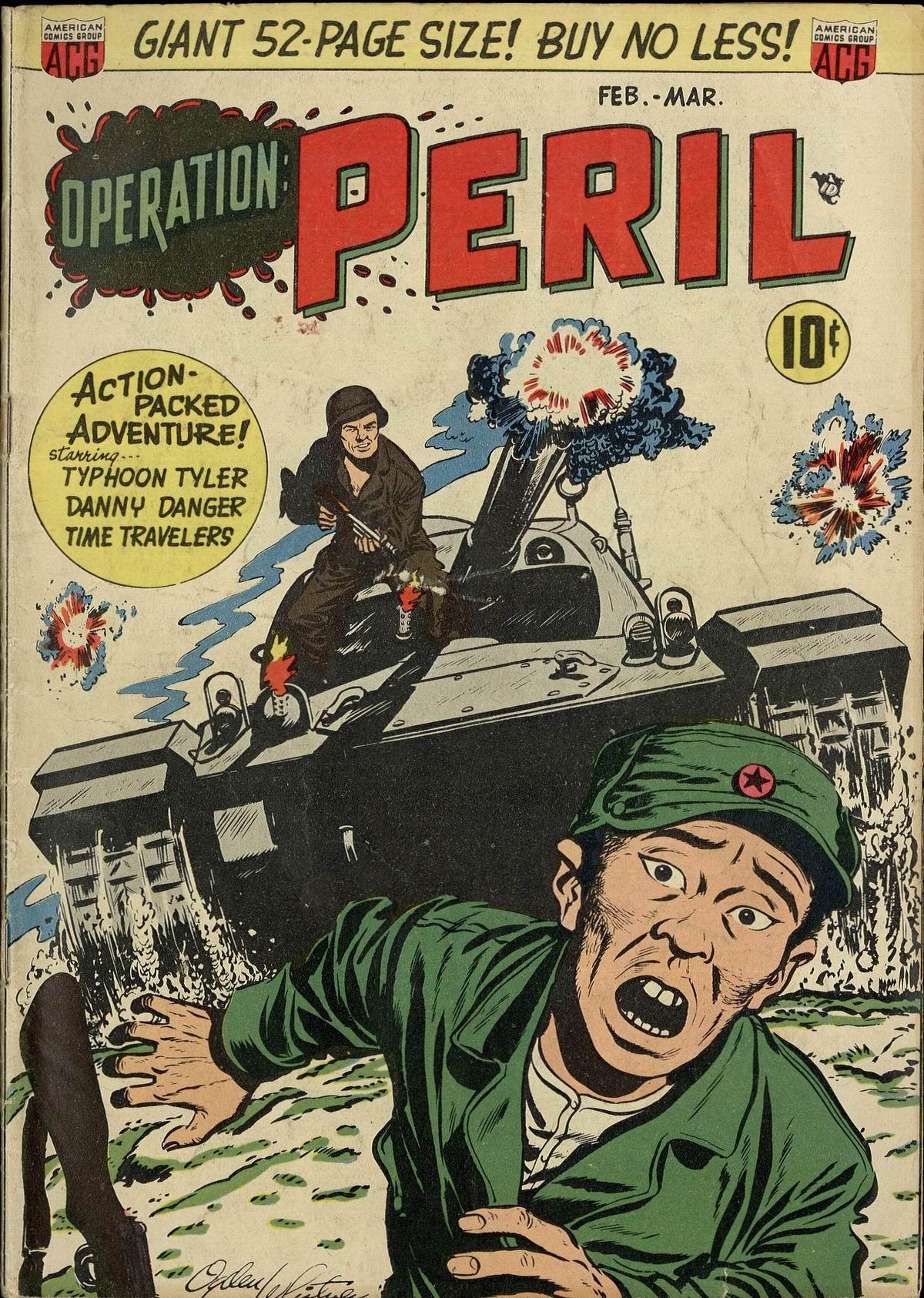 Operation: Peril Vol 1 3