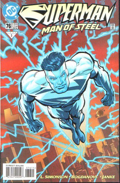 Superman: Man of Steel Vol 1 76