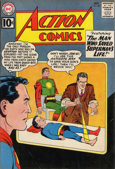 Action Comics Vol 1 281