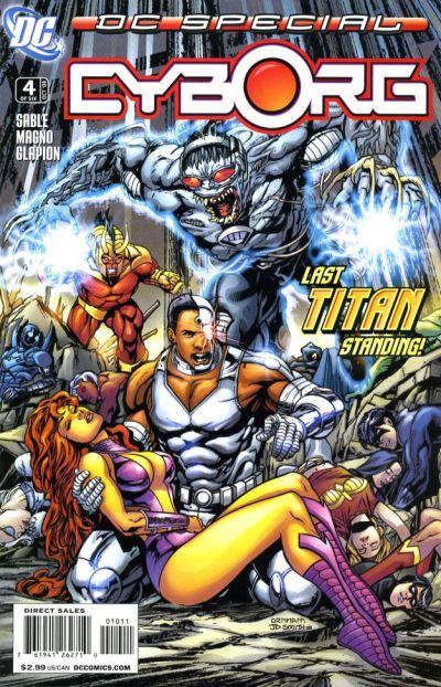 DC Special: Cyborg Vol 1 4