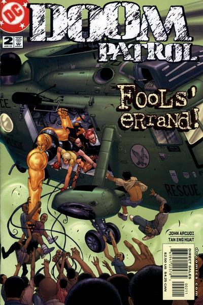 Doom Patrol Vol 3 2