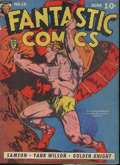 Fantastic Comics Vol 1 19
