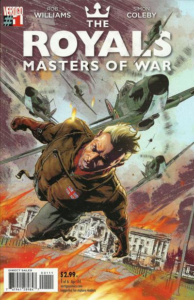 Royals: Masters of War Vol 1 1