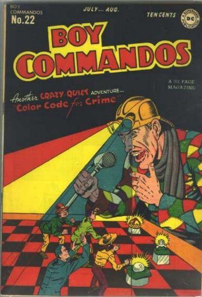Boy Commandos Vol 1 22