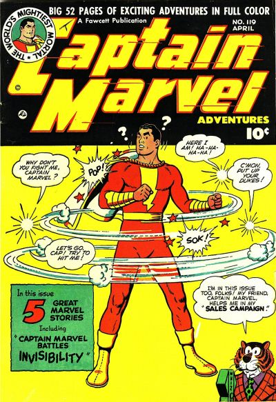 Captain Marvel Adventures Vol 1 119