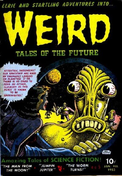 Weird Tales of the Future Vol 1 5