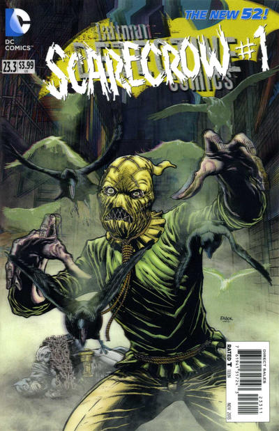 Detective Comics Vol 2 23.3: The Scarecrow
