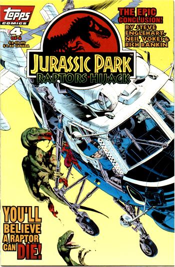 Jurassic Park: Raptors Hijack Vol 1 4