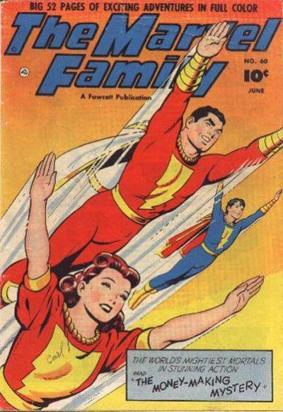 Marvel Family Vol 1 60