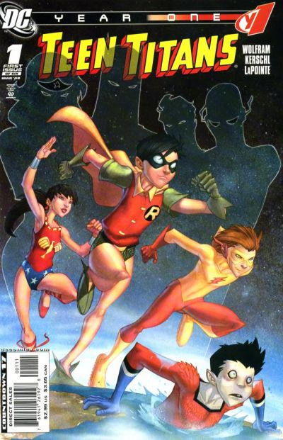 Teen Titans: Year One Vol 1