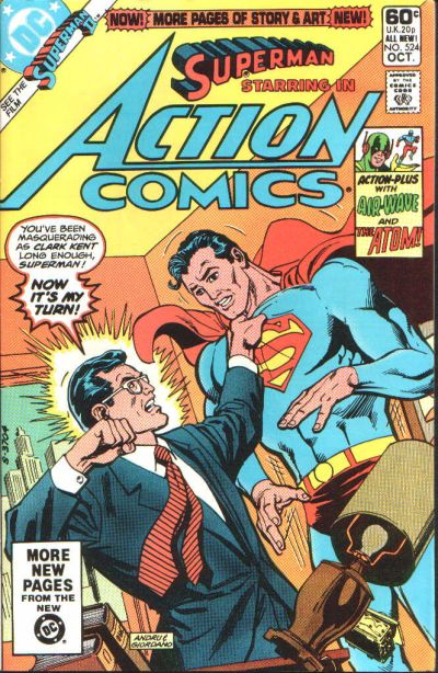 Action Comics Vol 1 524