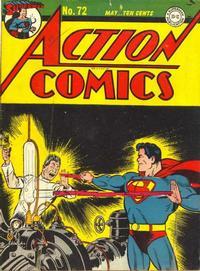 Action Comics Vol 1 72